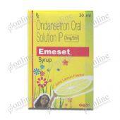 Emeset 2 mg/5 ml Syrup Juicy Lemon