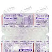 Emeset Odt 4 mg Tablet