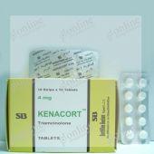 Kenacort 4 mg Tablet