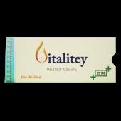 Vitalitey 25 Mg Tablet